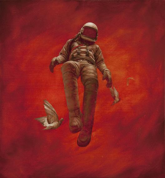 Red Cosmonaut